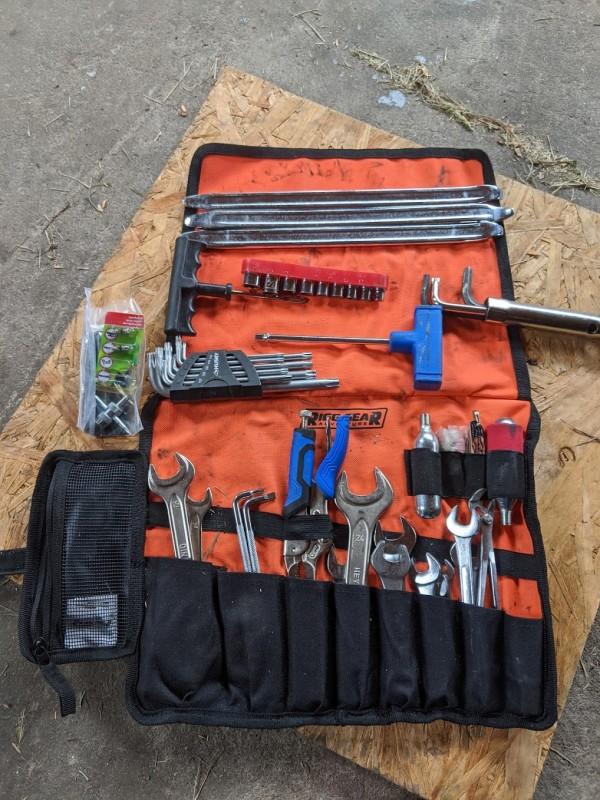 open adventure tool bag