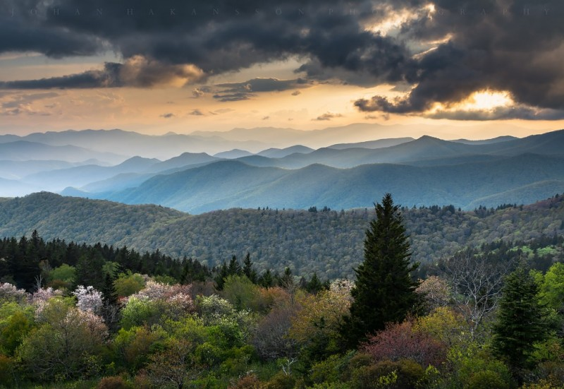 Blue Ridge Overlook - Cowee Mountain